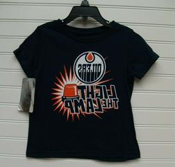 Edmonton Oilers Toddler Light The Lamp TShirt Size 3T NWT