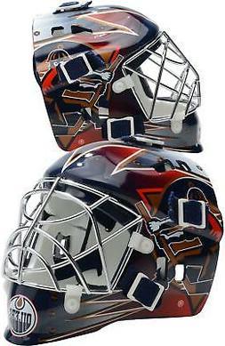 Edmonton Oilers Unsigned Franklin Sports Replica Mini Goalie