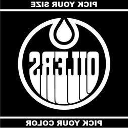 Edmonton Oilers Vinyl Sticker / Decal *NHL* Western * Pacifi