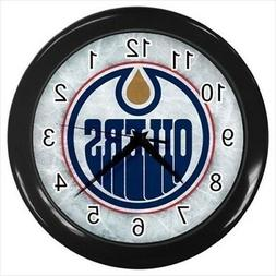 Edmonton Oilers Wall Clock  - NHL Hockey