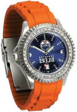 Gametime Edmonton Oilers Ladies Sparkle Watch
