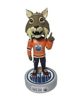 Hunter Edmonton Oilers Logo Base Bobblehead NHL