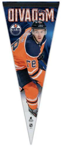 CONNOR MCDAVID Edmonton Oilers Signature Premium Felt Collec