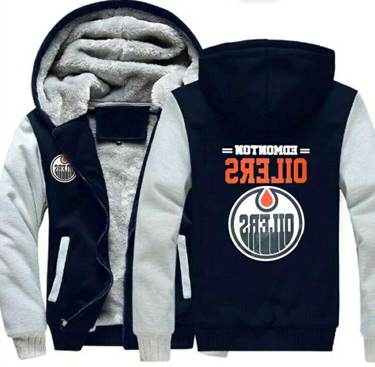Edmonton thick Hoodie Sweater Coat warm jacket Gift