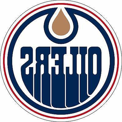 edmonton oilers nhl hockey bumper sticker window