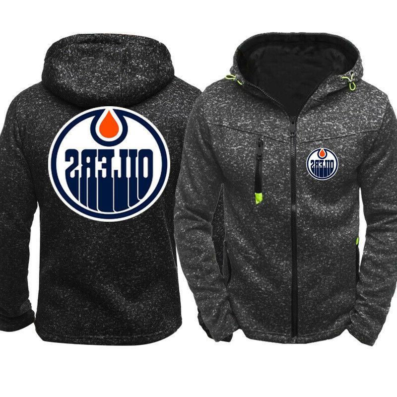 Edmonton Oilers Warm Fans Hooded Jacket