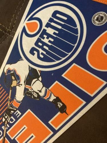 Vintage Edmonton Pennant Good NHL!
