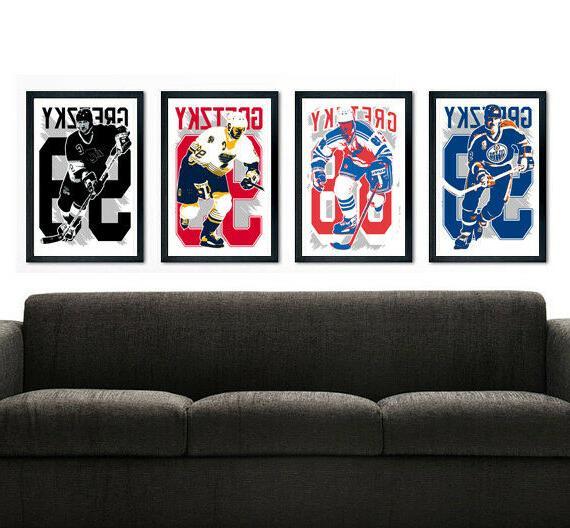 wayne gretzky art print poster fan pack
