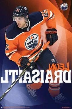 LEON DRAISAITL - EDMONTON OILERS POSTER - 22x34 - NHL HOCKEY