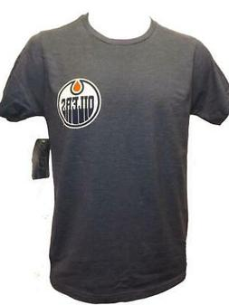 New Edmonton Oilers Hockey Mens Sizes S-M-L-XL-2XL Blue 2-Si