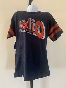 New Edmonton Oilers Kids Size S Small Blue Brand '47 Shirt
