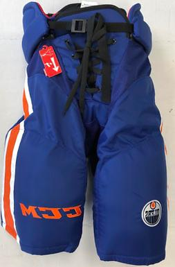 New CCM HP45X Edmonton Oilers Pro Stock/Return Ice Hockey Pa