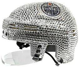 NEW NHL Edmonton Oilers Mini Helmet Made with Swarovski® Cr