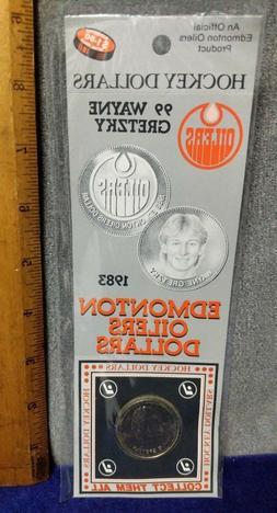 New, Wayne Gretzky 1983 Edmonton Oilers Hockey Dollars Colle