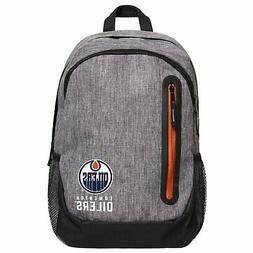FOCO NHL Backpack - GREY Edmonton Oilers