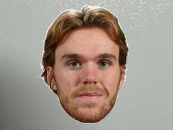 NHL CONNOR MCDAVID EDMONTON OILERS FRIDGE CAR MAGNET HOCKEY