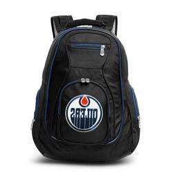 NHL Edmonton Oilers Colored Trim Premium Laptop Backpack