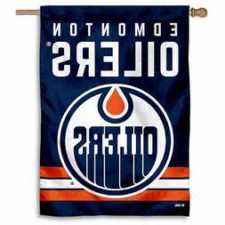 NHL Edmonton Oilers House Flag and Banner
