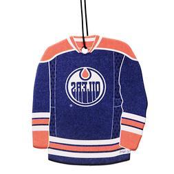 "NHL EDMONTON OILERS  "" JERSEY "" AIR FRESHENER"
