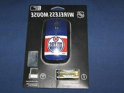 NHL Edmonton Oilers Game On Wireless Mouse