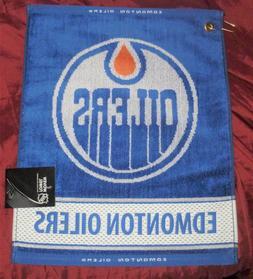 NHL Edmonton Oilers Jacquard Woven Golf Towel