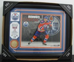 "NHL HIGHLAND MINT EDMONTON OILERS CONNOR MCDAVID 16"" x 13"" F"