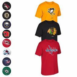 "NHL Reebok ""Jersey Crest"" Team Primary Logo Graphic T-Shirt"