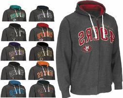 NFL NHL NBA MLB NCAA Tackle Zip Hoodie Football Sweatshirt J