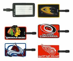 NHL Soft Rubber Luggage and Bag Tag - Pick Your Team