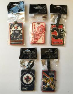 NHL Team Luggage Tag - Pick your team