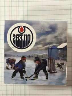 """""""Passion to Play"""": NHL Edmonton Oilers  2017 Canada PURE SIL"""