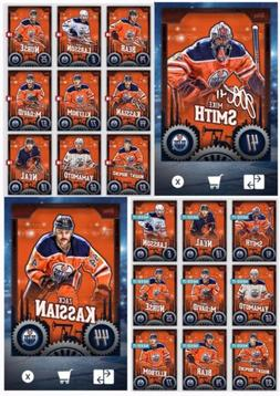 TEAM PACK EDMONTON OILERS SIGNATURE+BASE SETS-20 CARDS-TOPPS