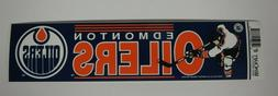 Vintage NHL Hockey EDMONTON OILERS Sports Bumper Sticker Win