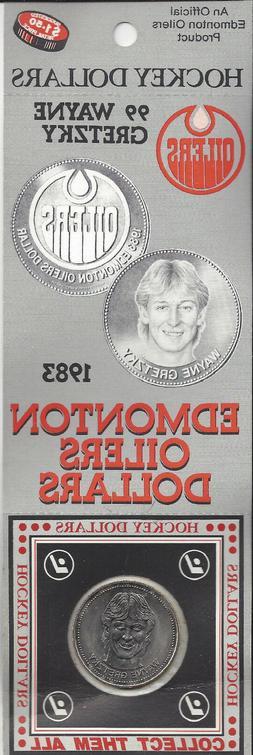 Wayne Gretzky 1983 Oilers Hockey Dollar Collectable Coin