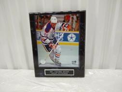 Wayne Gretzky Edmonton Oilers  10 1/2 x 13 Black Marble Plaq