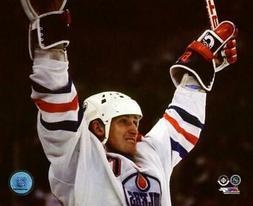 Wayne Gretzky Edmonton Oilers NHL Action Photo RY202
