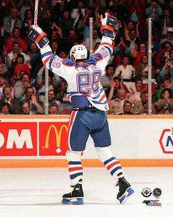 Wayne Gretzky GOAL! Edmonton Oilers c.1982 Northlands Col. P