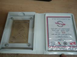Wayne Gretzky Highland Mint .999 Silver Topps Card 1979 Hock