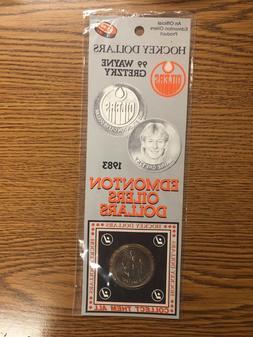 WAYNE GRETZKY HOCKEY DOLLAR 1983 EDMONTON OILERS ORIGINAL PA